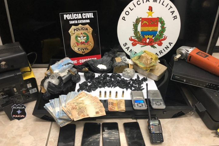 Ação policial resulta em apreensão de mais de R$ 130 mil em drogas