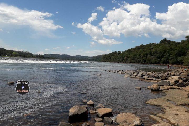 Localizado corpo de jovem que se afogou no Rio Uruguai