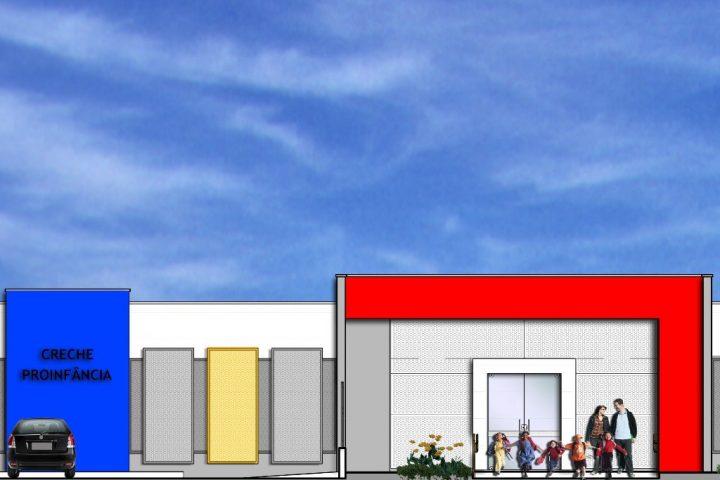 Creche de mais de R$ 2 milhões vai começar a ser construída nos próximos dias em Passos Maia