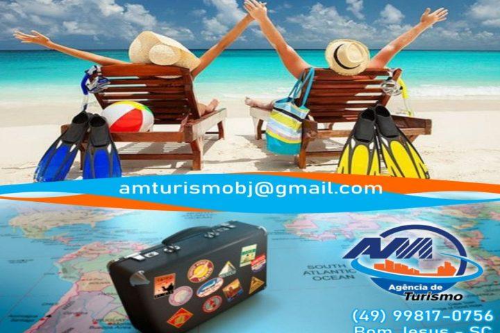 Quer viajar e aproveitar as férias neste verão? Conheça os pacotes promocionais da AM Turismo