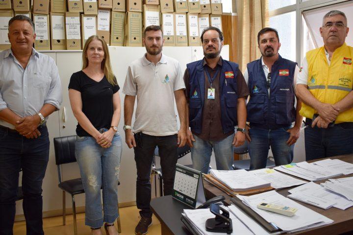 Prefeitura de Xanxerê recebe visita de fiscais da Aresc