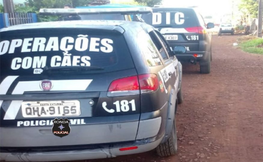 DIC prende jovem envolvido em homicídio registrado no início do ano em Xanxerê
