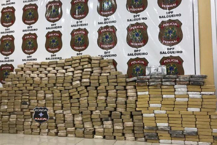 Caminhoneiro do Oeste é preso pela PRF com mais de 500 kg de cocaína