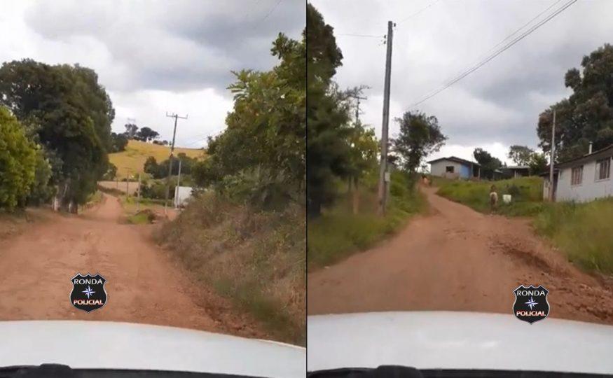 Vídeo: Moradores da Linha Serrinha em Xanxerê pedem socorro