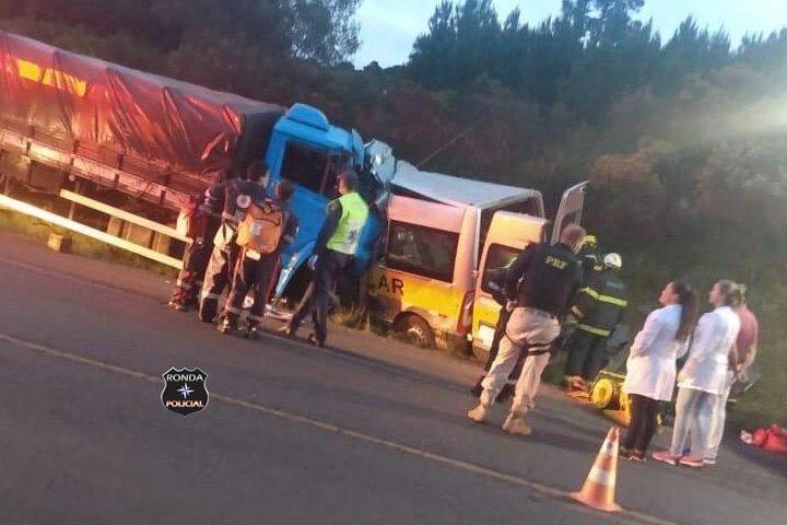 Identificadas vítimas de grave acidente na BR-153