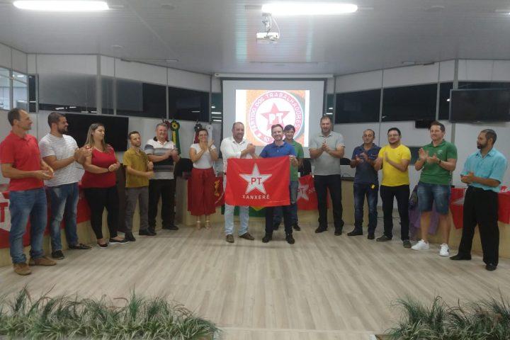 PT define Adrianinho e Tiecher como pré-candidatos para Prefeito e Vice de Xanxerê