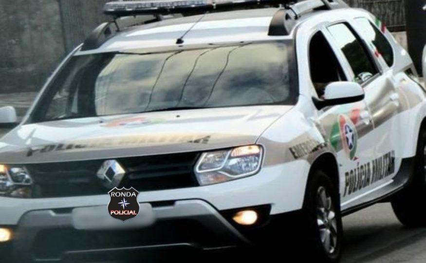 Jovem acaba preso pela PM após ter assaltado farmácia no centro de Xaxim
