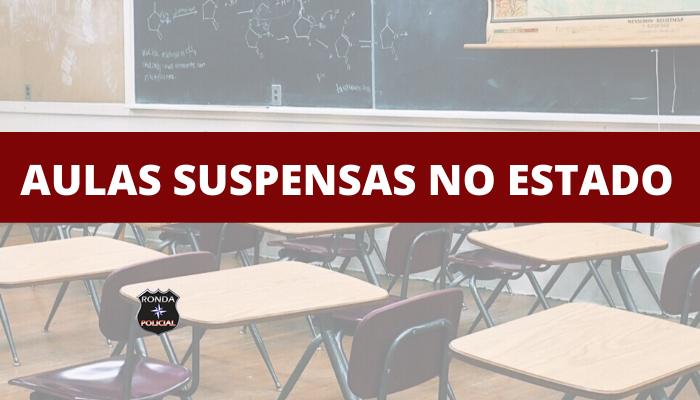 Governo do Estado determina suspensão das aulas em Santa Catarina a partir da próxima quinta-feira