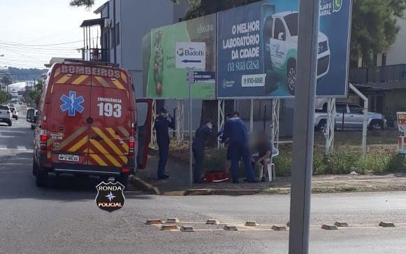 Atropelamento de ciclista é registrado no centro de Xanxerê