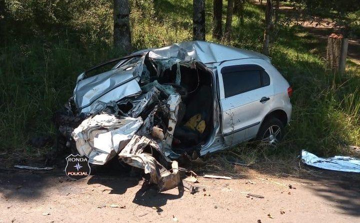 Motorista morre em grave acidente com caminhão de Chapecó