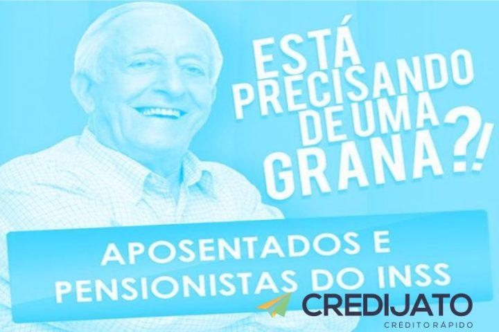 Aposentados e pensionistas do INSS podem obter empréstimos com prazo elevado e juros reduzidos na Credijato