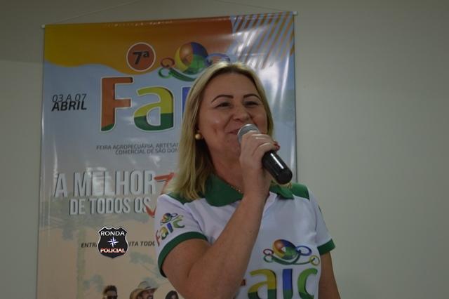 Prefeita suspende realização da FAIC em São Domingos