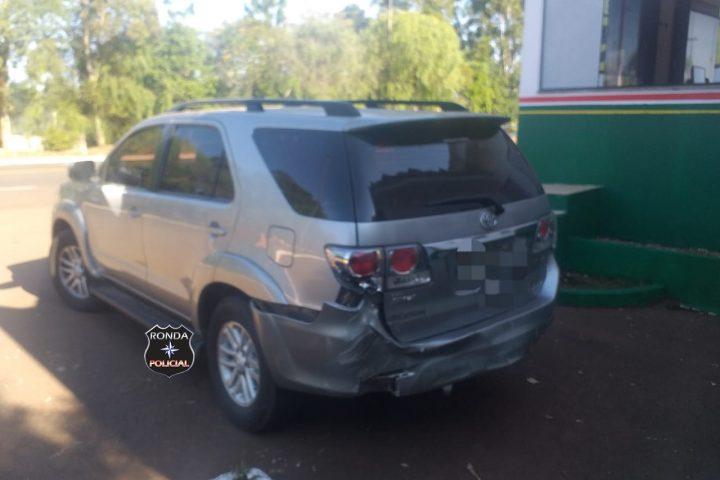 Veículo furtado é recuperado na SC-157