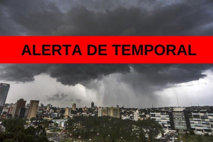 Defesa Civil alerta para risco de temporal no Oeste de Santa Catarina