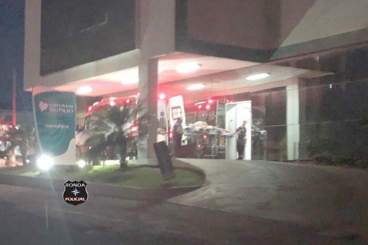 Menino vítima de atropelamento no centro de Xanxerê é transferido para Chapecó