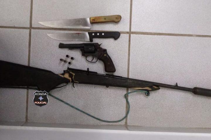 Mulher é alvejada com disparo de arma de fogo em comunidade rural