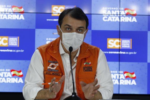 Governo prorroga quarentena em Santa Catarina até 31 de maio