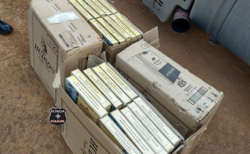 Polícia Rodoviária Estadual apreende carregamento de cigarros no Oeste