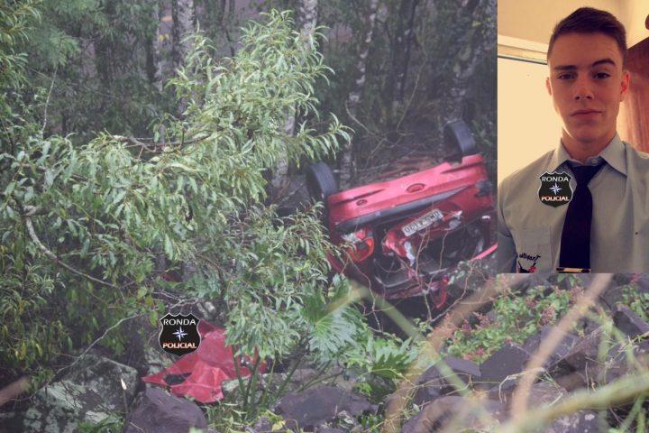 Identificado motorista que morreu em capotamento na BR-282