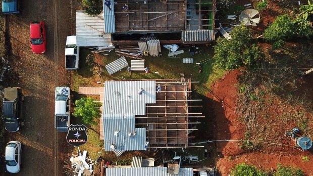 Defesa Civil confirma Tornado volta a atingir o Oeste de Santa Catarina