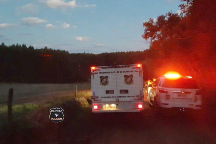 Caminhoneiro morre em tombamento registrado em comunidade rural