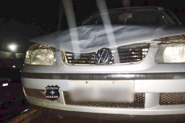 Pai e filho são encaminhados em estado grave ao hospital após serem vítimas de atropelamento no centro de Xanxerê