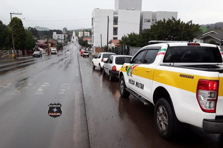 Acidente é registrado na SC-480 em Ipuaçu