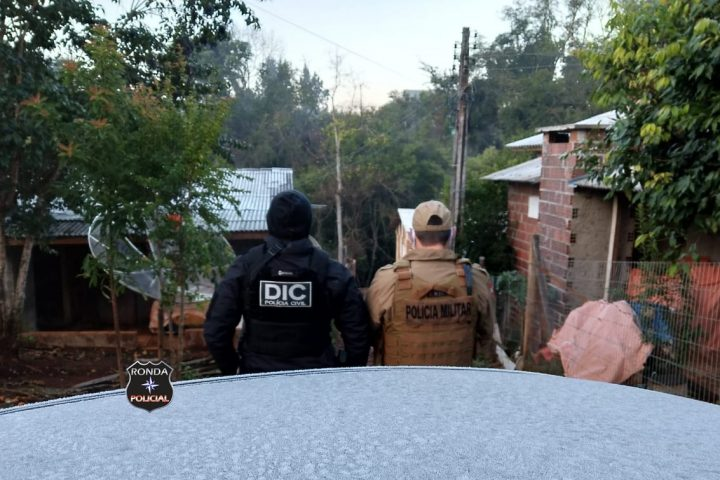 Ação conjunta entre DIC e PM cumpre nove mandados no combate ao tráfico