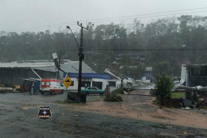 Defesa Civil apresenta balanço dos danos causados pelo mau tempo no Oeste de Santa Catarina