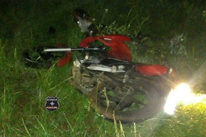 Jovem motociclista morre em grave acidente durante a madrugada