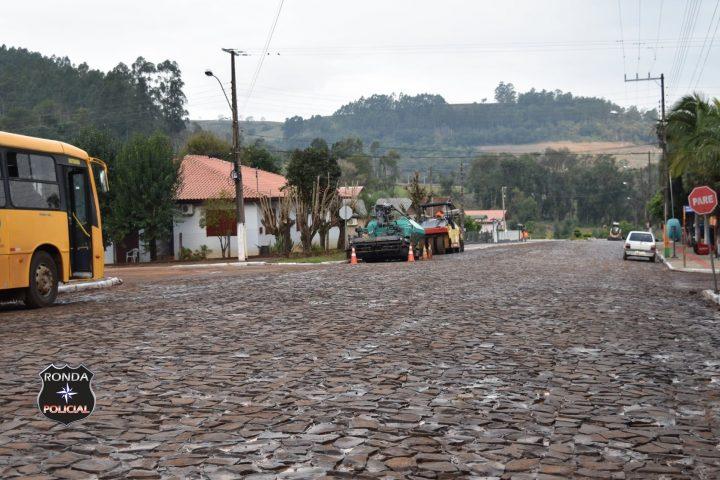 Pavimentação da Rua Pinheiro Machado em Marema deve ocorrer nessa semana