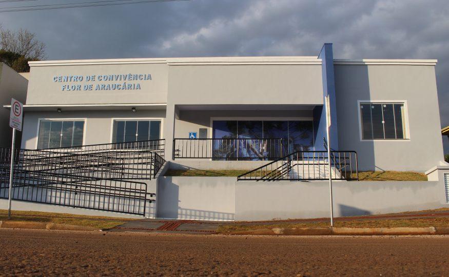 Inaugura nesta sexta-feira (09) o Centro de Convivência Flor de Araucária em São Domingos