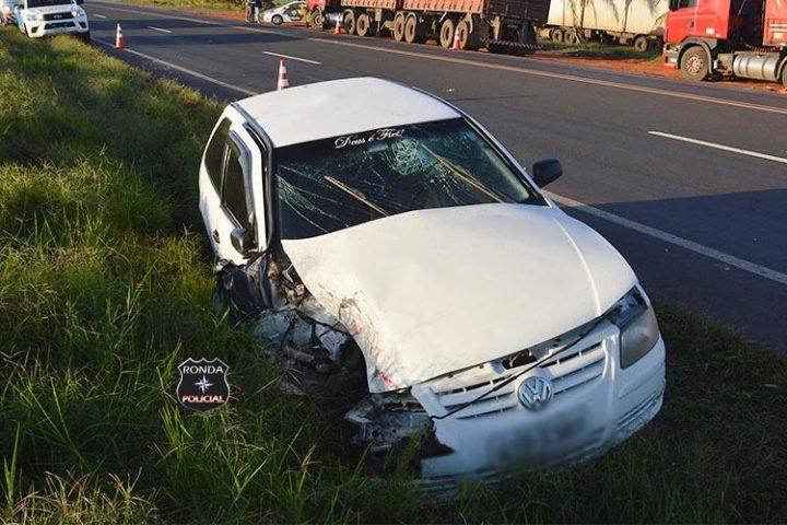 Carreta de Xanxerê se envolve em acidente no estado de São Paulo