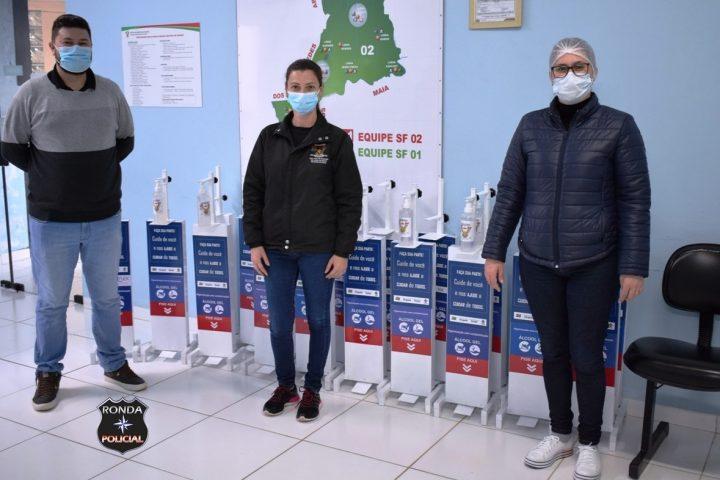 Secretaria de Saúde de Vargeão adquire equipamentos para higienização das mãos