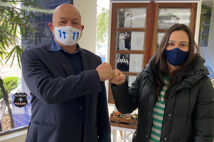 """""""Seremos protagonistas nesta eleição"""", diz pré-candidato à prefeito pelo PP em Xanxerê"""