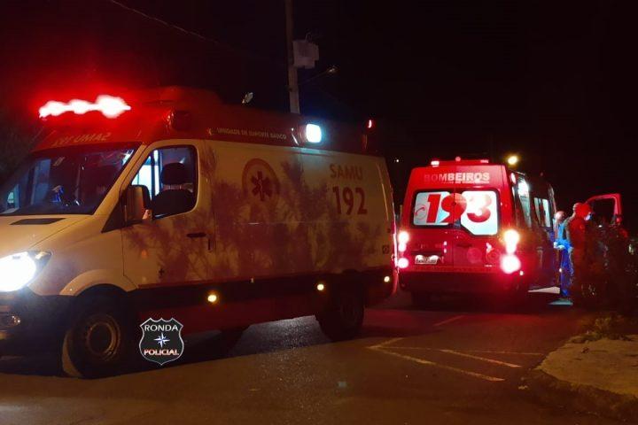 Dupla tentativa de homicídio é registrada durante a noite em loteamento