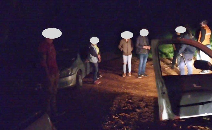 Autoridades acabam com festa clandestina envolvendo bebidas e menores no interior de Xanxerê