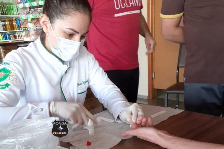 Primeira etapa de testes para Covid-19 é encerrada com a coleta de 250 pacientes em Bom Jesus