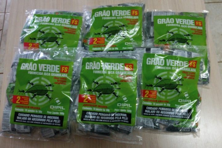 Secretaria de Agricultura realiza campanha de controle de formigas saúvas