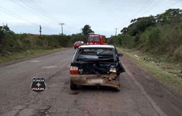 Grávida fica ferida em acidente de trânsito em rodovia