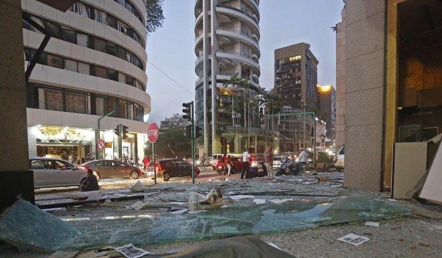 Explosões em Beirute deixam 70 mortos e mais de 3.700 feridos