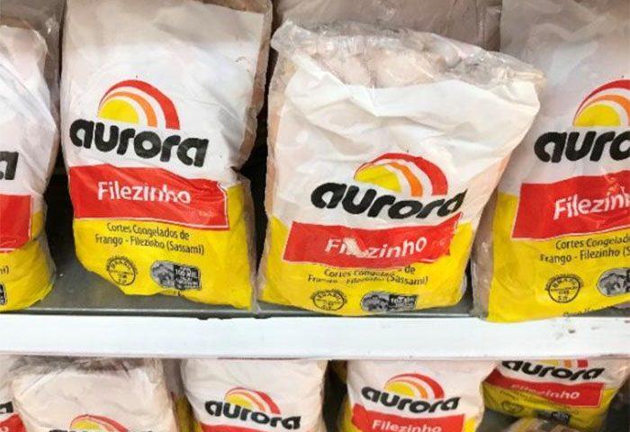 Aurora suspende vendas de frango para a China da Unidade de Xaxim