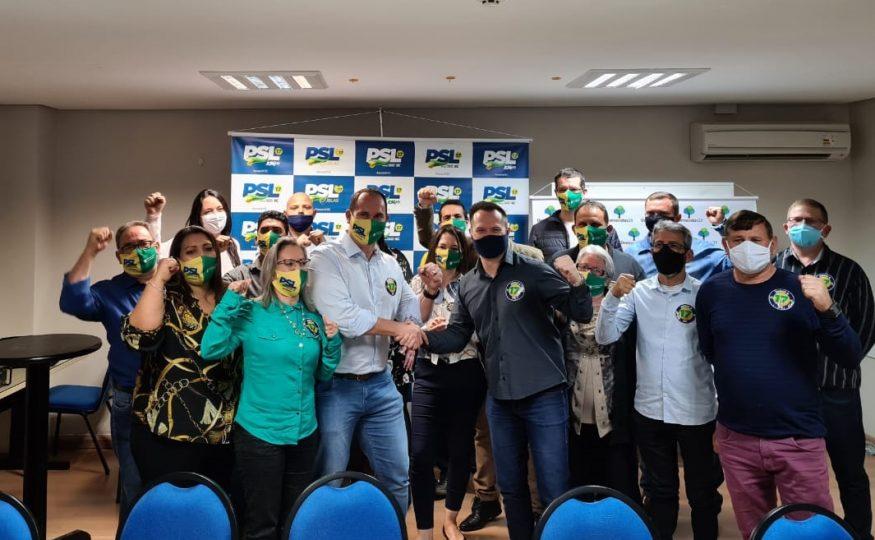 PSL confirma Wilson e Vinícius para as eleições de Xanxerê