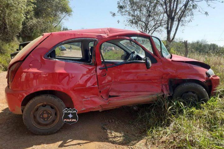 Vítima de grave acidente no interior de Bom Jesus é transferida para Chapecó