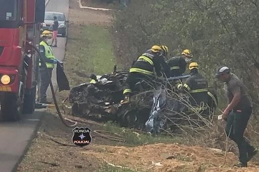 Confirmada morte de jovem xanxerense em colisão frontal entre carro e carreta na BR-282