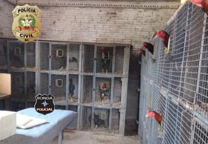 Polícia Civil localiza criador clandestino de animais no interior