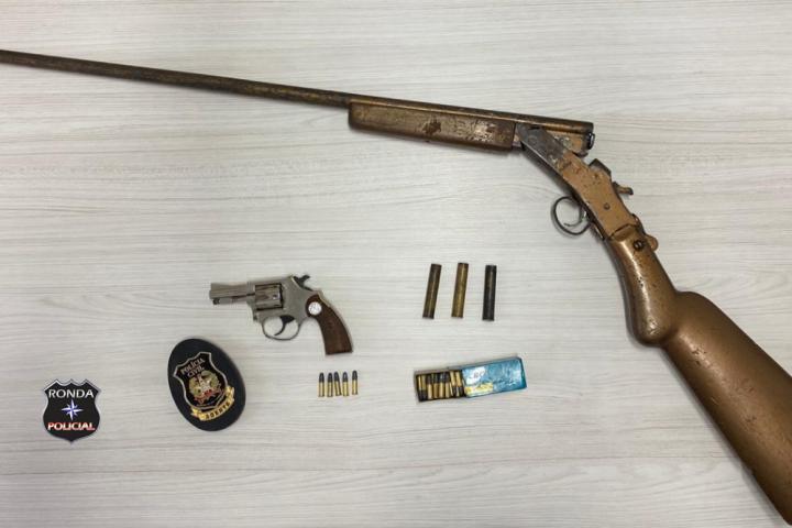 Idoso é preso pela Polícia Civil por porte ilegal de arma de fogo