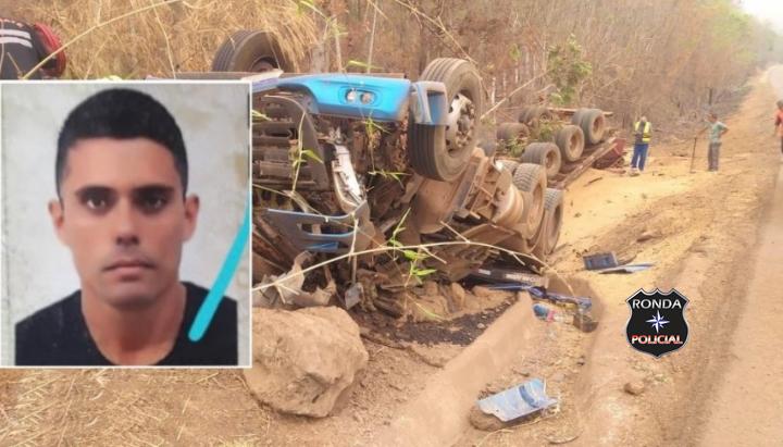Caminhoneiro do Oeste morre em grave acidente no Mato Grosso