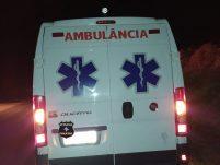 Acidente envolvendo ambulância deixa três pessoas feridas no Oeste