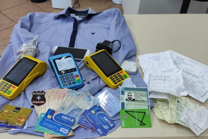 Operação da PM PRE e PC prende homem por praticar golpes de estelionatário
